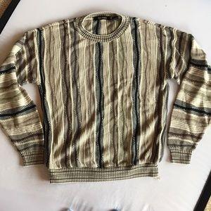 Bacharach 3D Heavy Knit Sweater